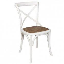 Krzesło Belldeco - Bari - białe