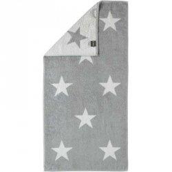 Ręcznik Cawo Stars Big - szary