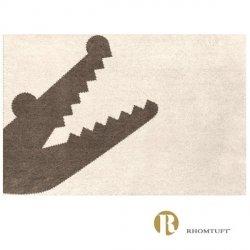 Dywanik łazienkowy Rhomtuft - Croc - ecru