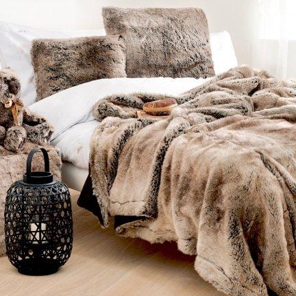 Pled Futrzany Winter Home Yukonwolf Futro Wilka