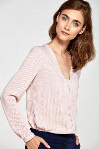 Bluzka b80 - róż/kropki - B80