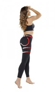 PUSH-UP LEGGINGS Anti Cellulite legginsy