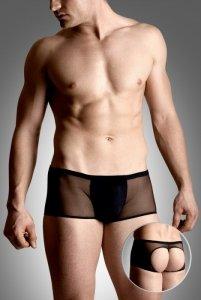 Mens shorts 4493 - black szorty open