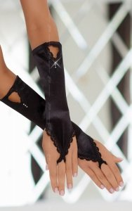 Gloves 7710 - black rękawiczki