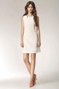 Sukienka - ecru - S37