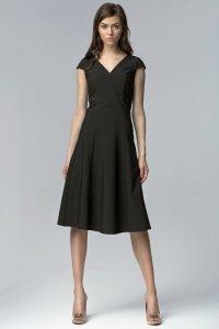 Sukienka MIDI - czarny - S60