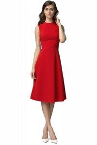 Sukienka MIDI - czerwony - S62