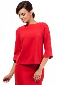MOE190 bluzka czerwona