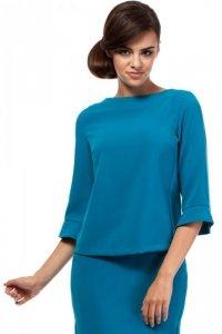 MOE190 bluzka turkus
