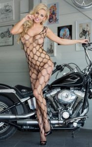 She-cat - Black 6254 bodystocking