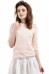 MOE217 bluzka brzoskwiniowa