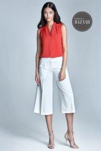 Spodnie culottes - ecru - SD24