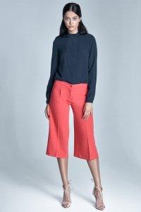 Spodnie culottes - koral - SD24