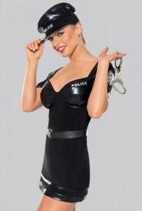 Kostium policjantki 6629 czarny