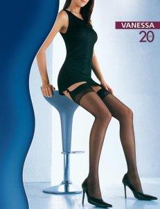 1 Vanessa 20 den - pończochy do paska PROMO