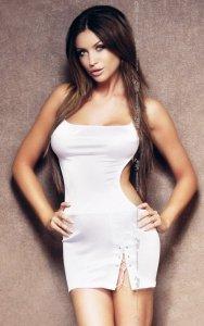 Oriana - white 1714 sukienka