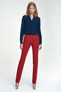 Eleganckie spodnie - czerwony - SD25
