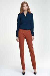 Eleganckie spodnie - rudy - SD25