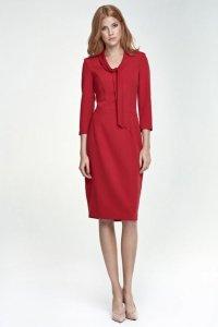 Sukienka s77 - czerwony - S77