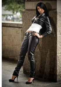 1 Victoria spodnie SL4002 czarne PROMO