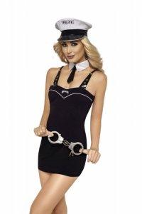 Kostium policjantki 6780 czarny