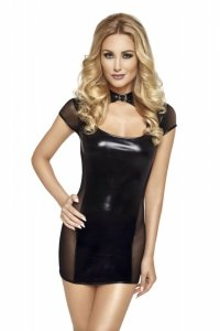 Sukienka mini 6746 czarny