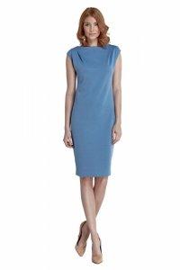 Sukienka Eva - niebieski - S84