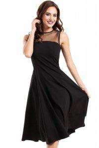 MOE271 sukienka czarna