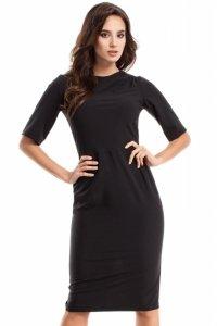 MOE276 sukienka black