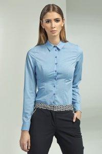 Koszula - niebieski - K43