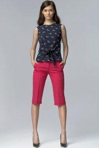 Spodnie bermudy - fuksja - SD18