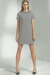 Sukienka trapezowa - wzór - S54
