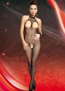 Netzcatsuit 2 - black bodystocking
