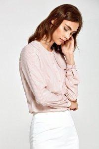 Bluzka - róż/kropki - B84