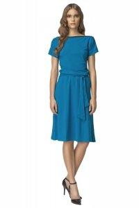 Sukienka - niebieski - S13