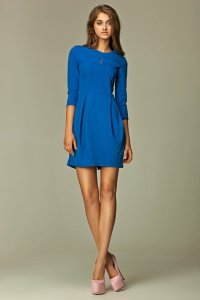 Sukienka - niebieski - S32