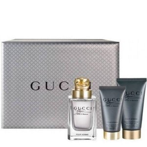 Gucci MADE TO MEASURE Zestaw - Woda toaletowa 90 ml + Balsam po goleniu 75 ml + Żel pod prysznic 50 ml