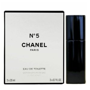 Chanel No 5 Woda toaletowa 3 x 20 ml