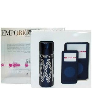 Emporio Armani REMIX For Men Woda toaletowa 50 ml + Etui na odtwarzacz mp3