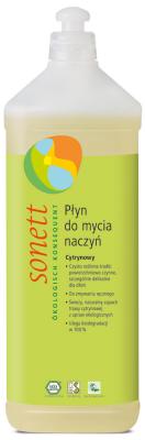 Płyn do mycia naczyń CYTRYNOWY 1 litr