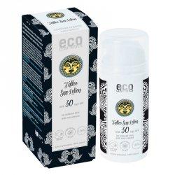 Eco Cosmetics Emulsja na słońce SPF 30 dla skóry z tatuażami z ekstraktem z noni Tattoo Care 100 ml