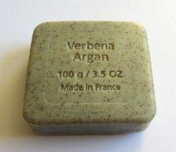 Mydło peelingujące z olejem arganowym i werbeną 100 g