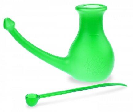 B002 Zestaw do płukania nosa Yogi's NoseBuddy (kolor zielony)