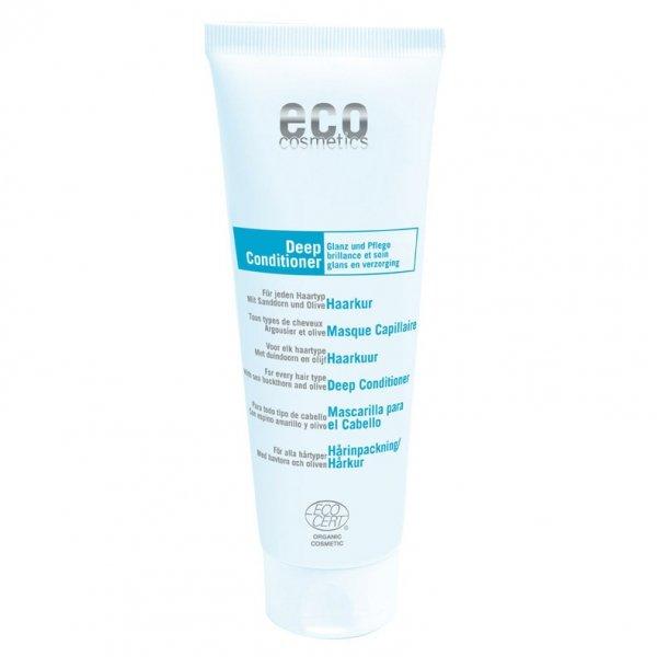Eco Cosmetics Maseczka do włosów nabłyszczająco – nawilżająca 125 ml