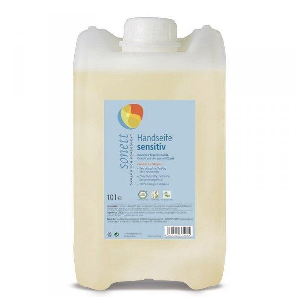 Mydło w płynie SENSITIV - 10 litrów (na zamówienie: 14-30dni)