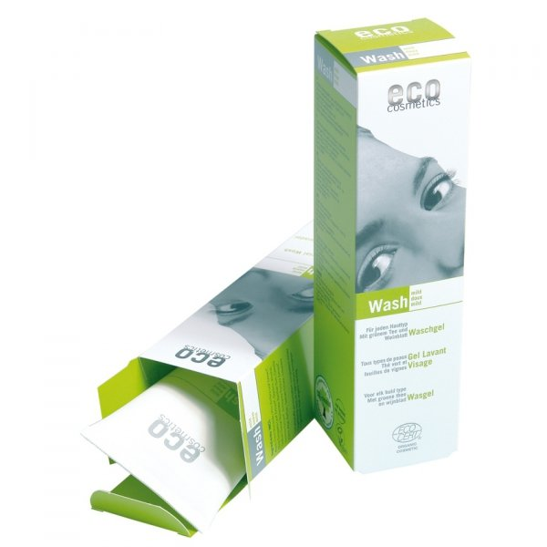 Eco Cosmetics Wash – łagodny żel do mycia twarzy 125 ml
