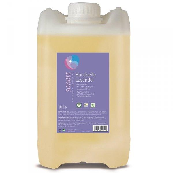 Mydło w płynie LAWENDA - opakowanie uzupełniające 10 litrów