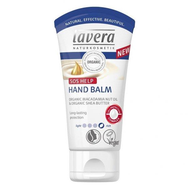 Lavera Krem maska do rąk z bio-olejem z makadamia i masłem Shea 50 ml