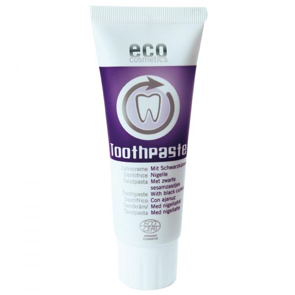 Eco Cosmetics Pasta do zębów z czarnuszką 75 ml