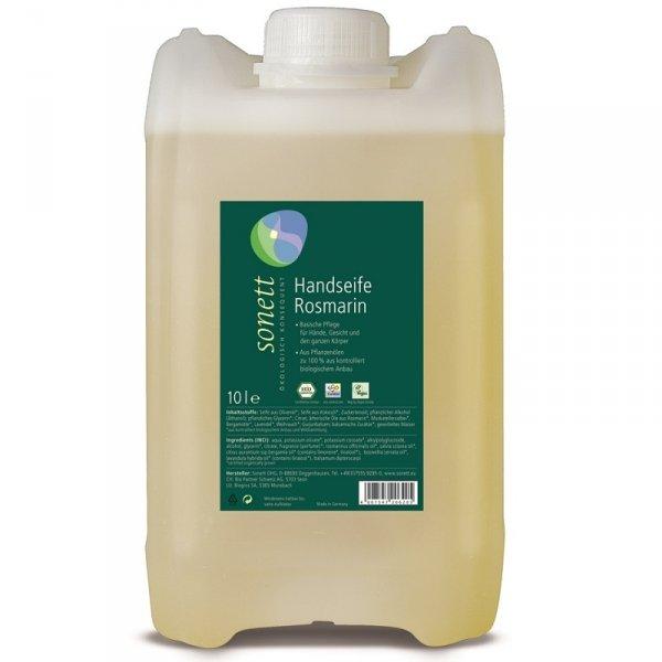 Mydło w płynie ROZMARYN - opakowanie uzupełniajace 10 litrów (na zamówienie: 14-30dni)